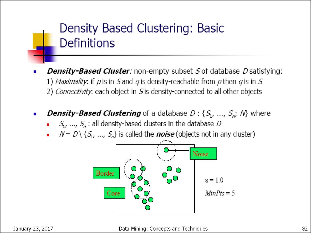 Cluster analysis  (Lecture 6-8) - online presentation