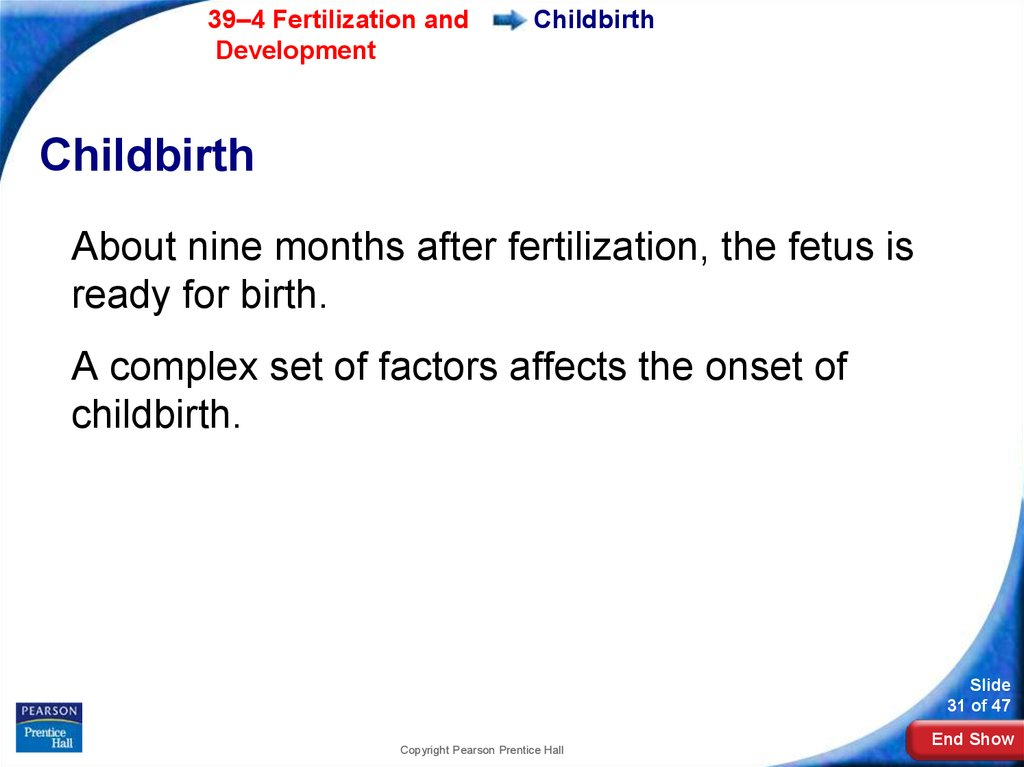 Childbirth