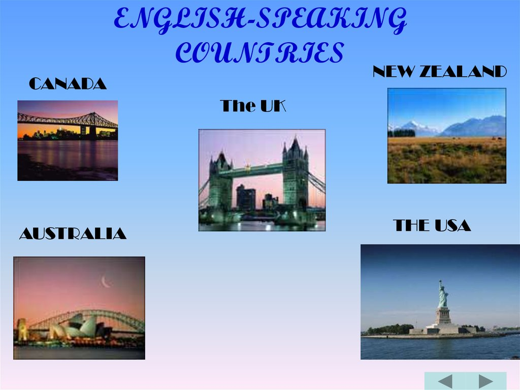 english speaking countries Hi this is a short quiz about english speaking countries it will take you 5 minutes good luck.
