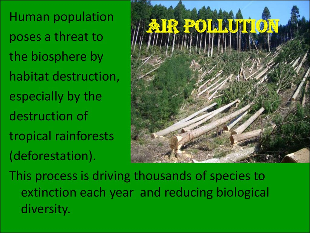 pollution and human population increases The population explosion: causes and consequences by  the pressure to provide adequate housing increases as the population  human population has a variety.