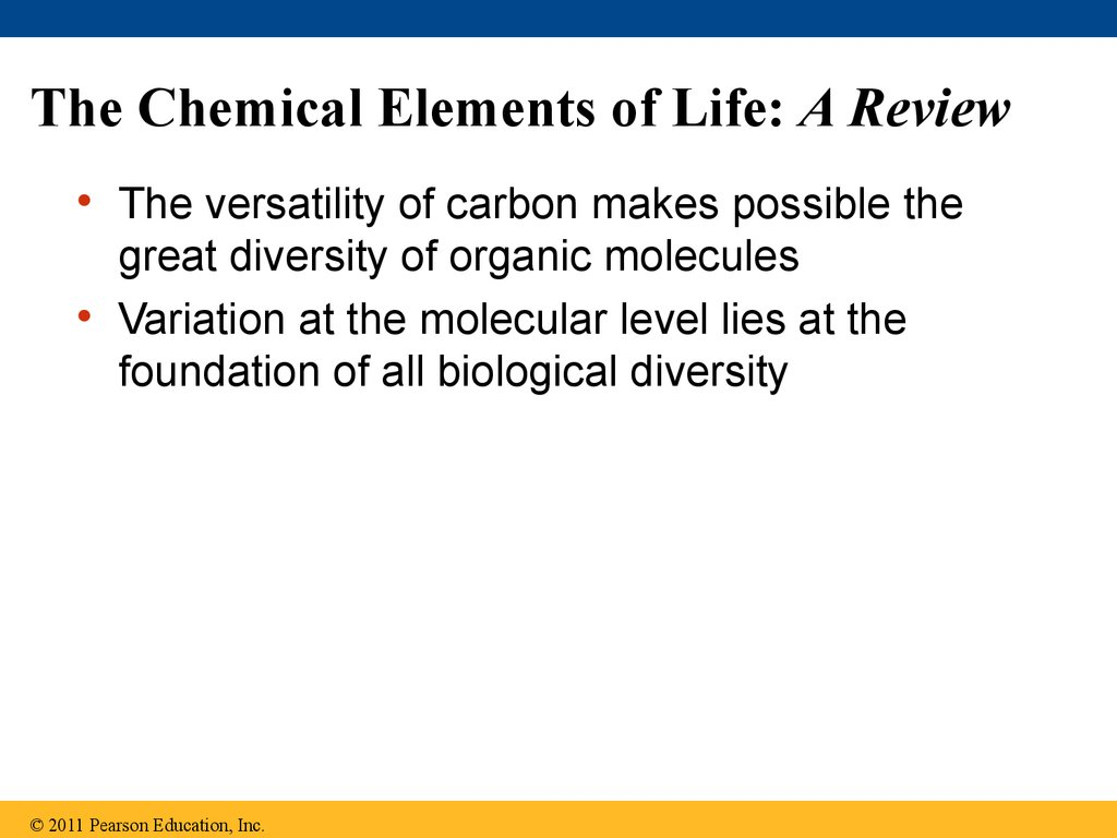 The Chemical Elements of Life: A Review