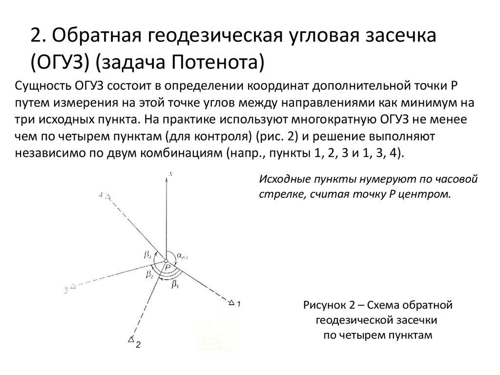 Онлайн решение задач по геодезии задачи с решением на транспортный налог в