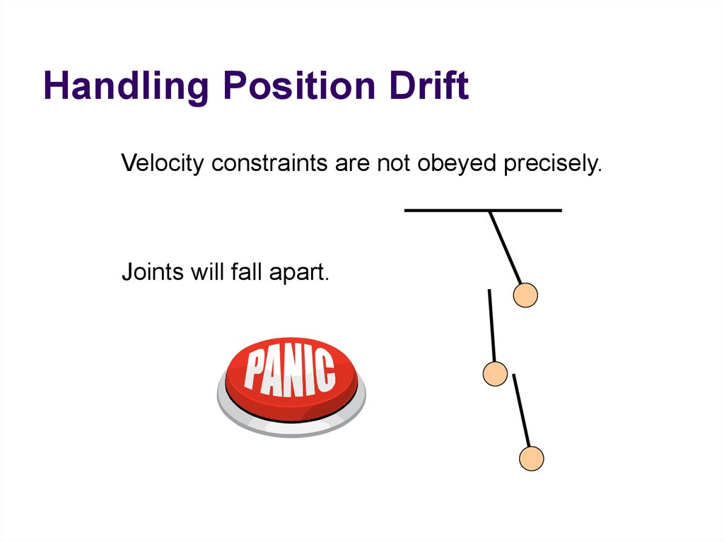 Handling Position Drift
