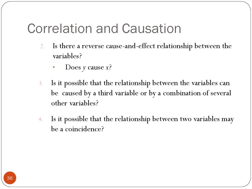 causation correlation checkpoint Students will learn how to analyze whether two events/properties demonstrate a correlation or causation or both they will learn what factors are involved when evaluating whether or not correlated events demonstrate causation.
