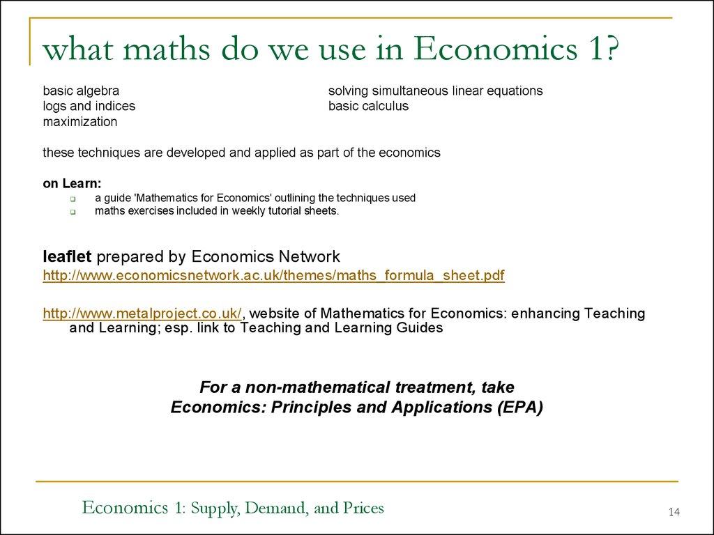 Supply, Demand, and Prices - презентация онлайн