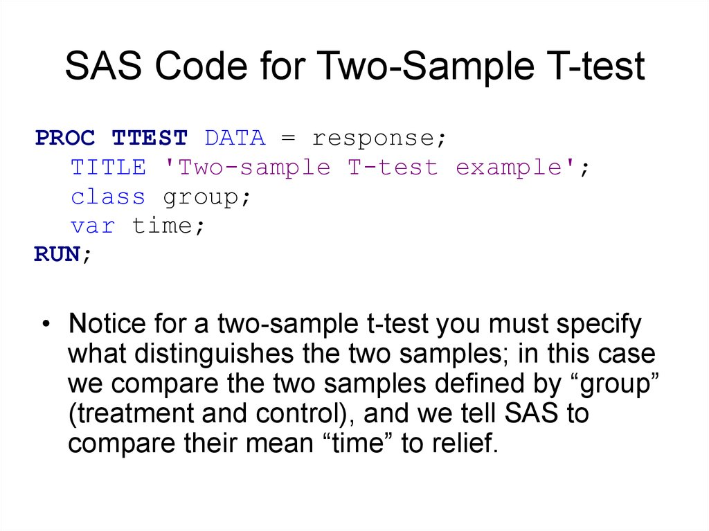 T test using sas – dni institute.