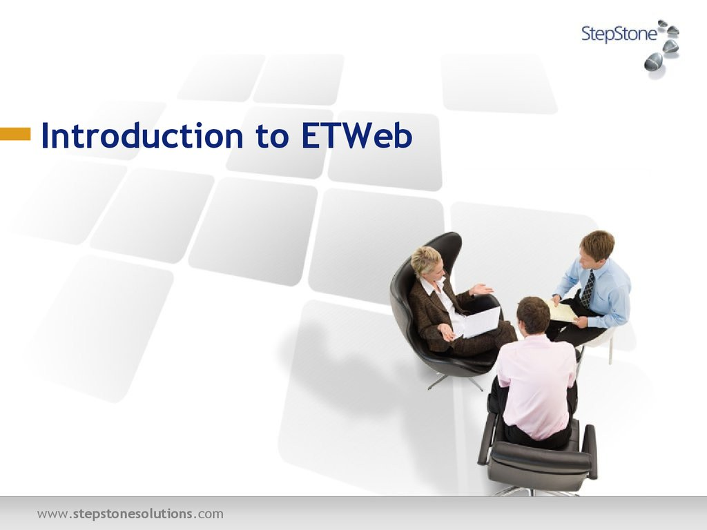 Introduction to ETWeb