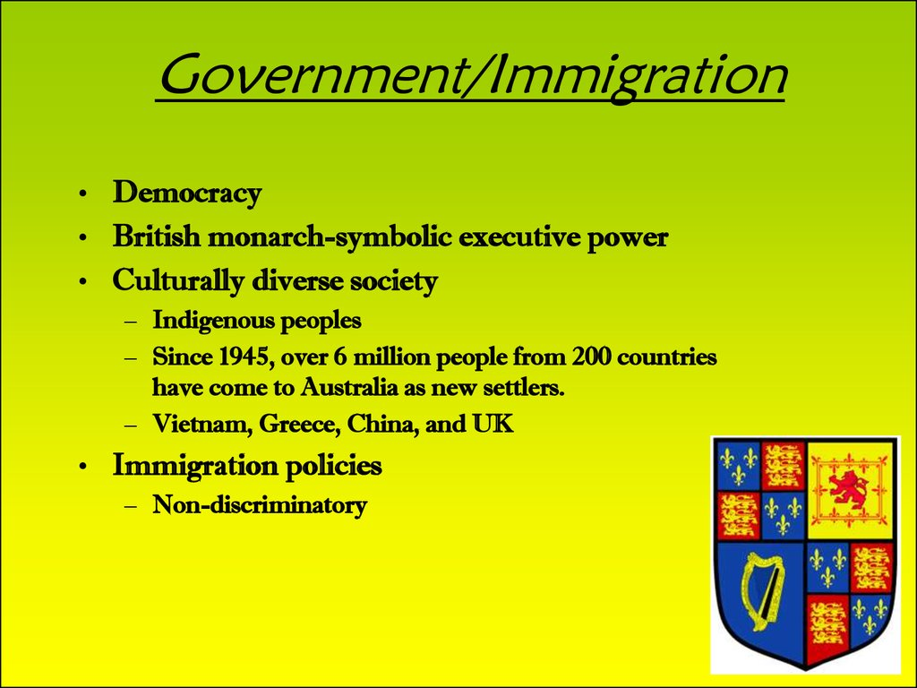 Government/Immigration