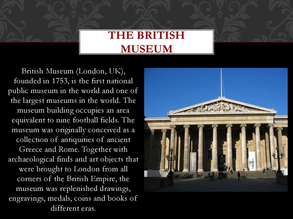 the british museum The british library home page, for research, inspiration and enjoyment.
