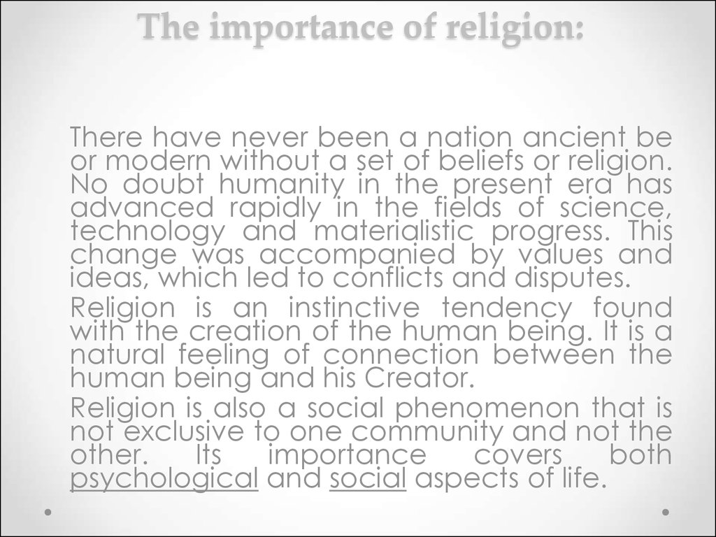 the importatnce of religion and its relation to other sociological aspects Sociology is the study of society as a whole, certain elements of the society, such as the family unit and religion, and the evolution of social structures.