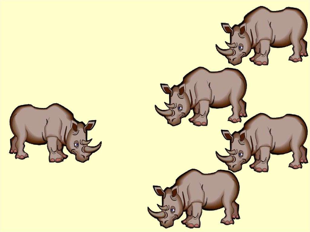 Картинки для счета животных