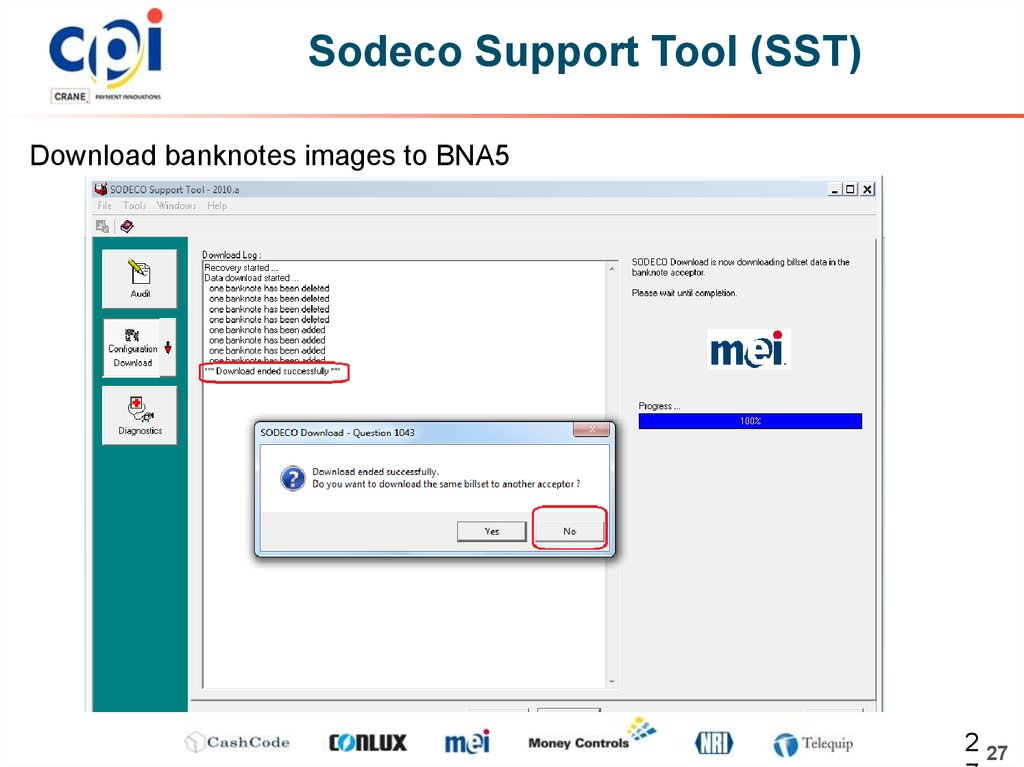 Sodeco Support Tool (SST)