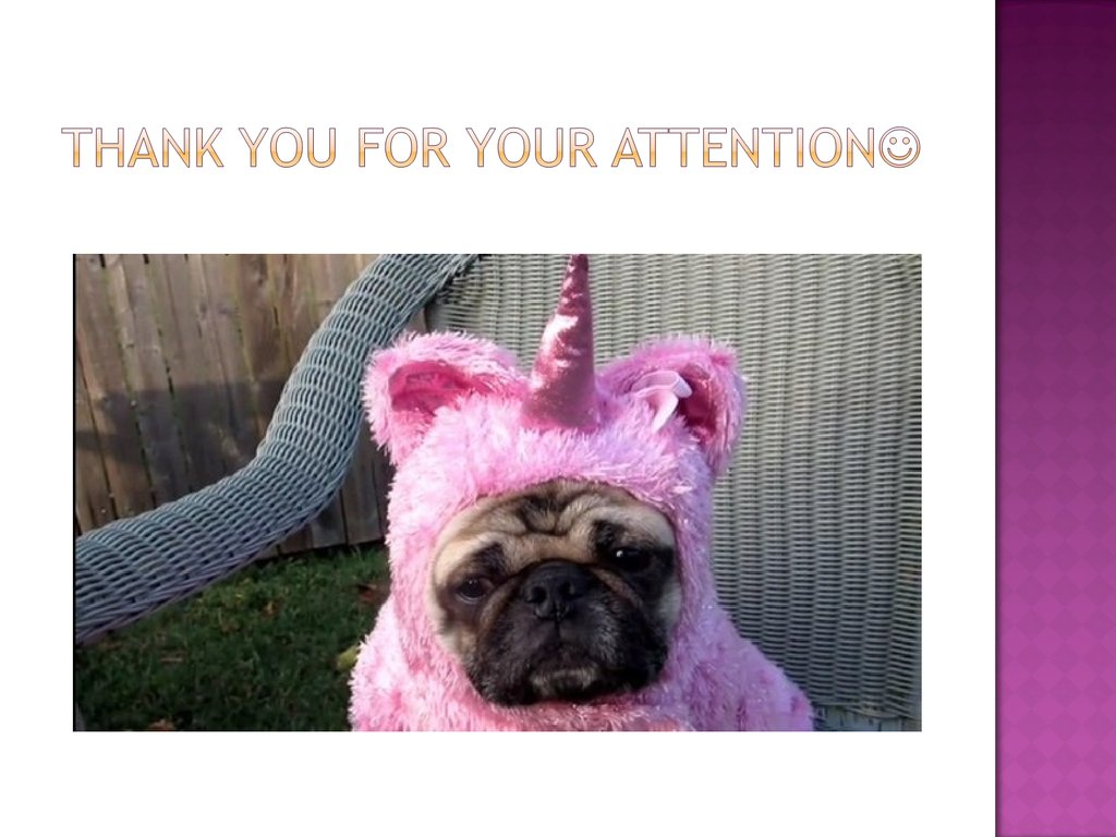 thank you for your attention