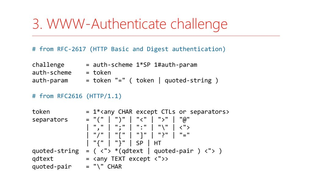 3. WWW-Authenticate challenge