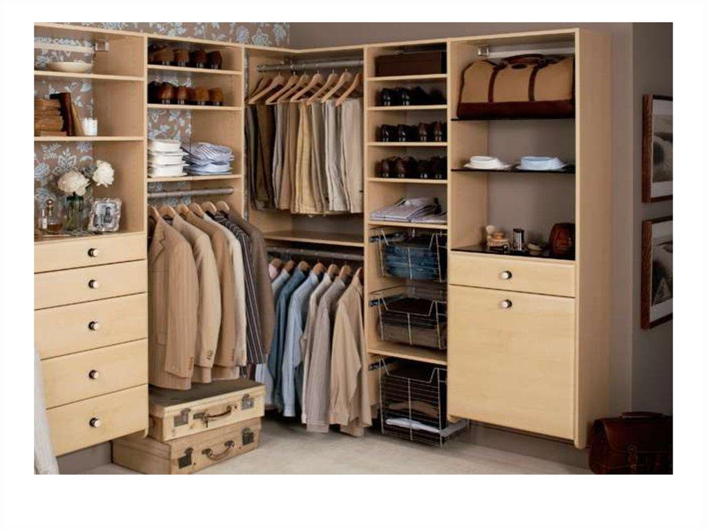 Гардеробные комнаты - мебельное ателье - идея.