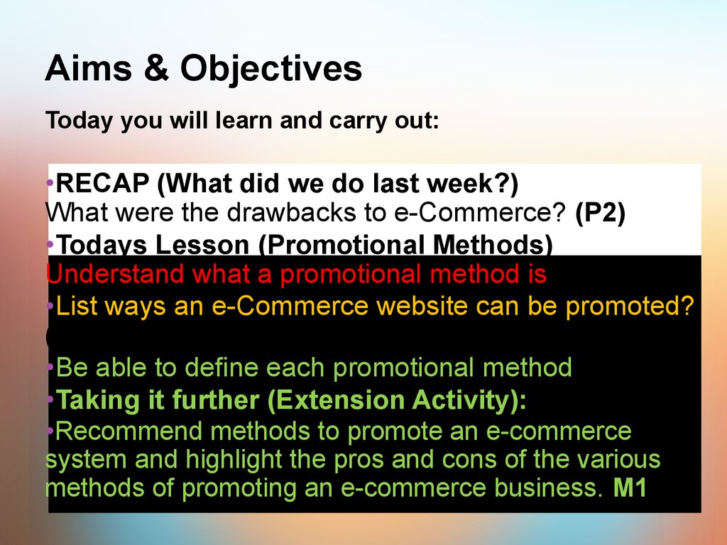 aims and objective of cce How to write training objectives three parts: planning your objectives writing your objectives making objectives quantifiable community q&a developing a training plan or lesson curriculum will include a lot of detailed and specific information, depending on what is being taught.
