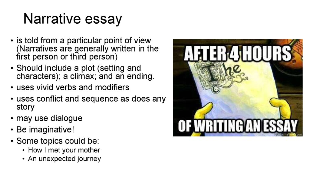 how are narrative and descriptive essays similar Our essay topics are designed to spark creative thinking and can be modified for students in elementary, middle and high school they are grouped by topic for easy student and teacher reference feel free to print the entire list for plenty of inspiration for your next descriptive essay assignment.