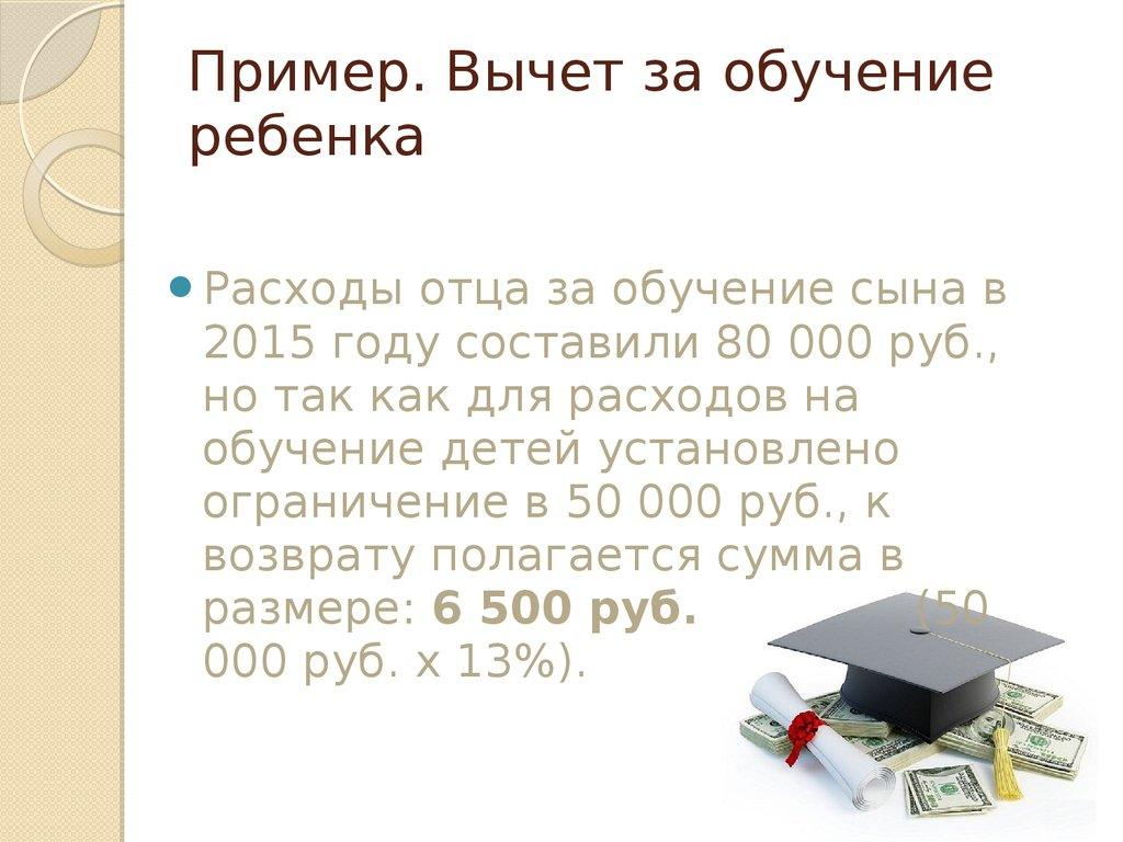 Как получить налоговый вычет за обучение | Современное ...