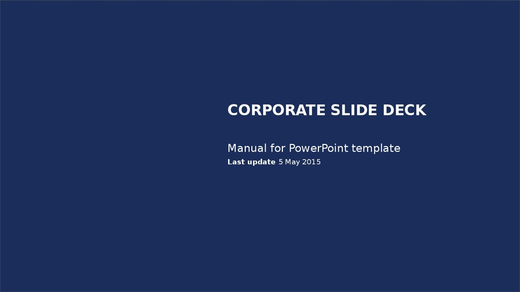 Manual for powerpoint template online presentation manual for powerpoint template last update 5 may 2015 luxoft toneelgroepblik Gallery