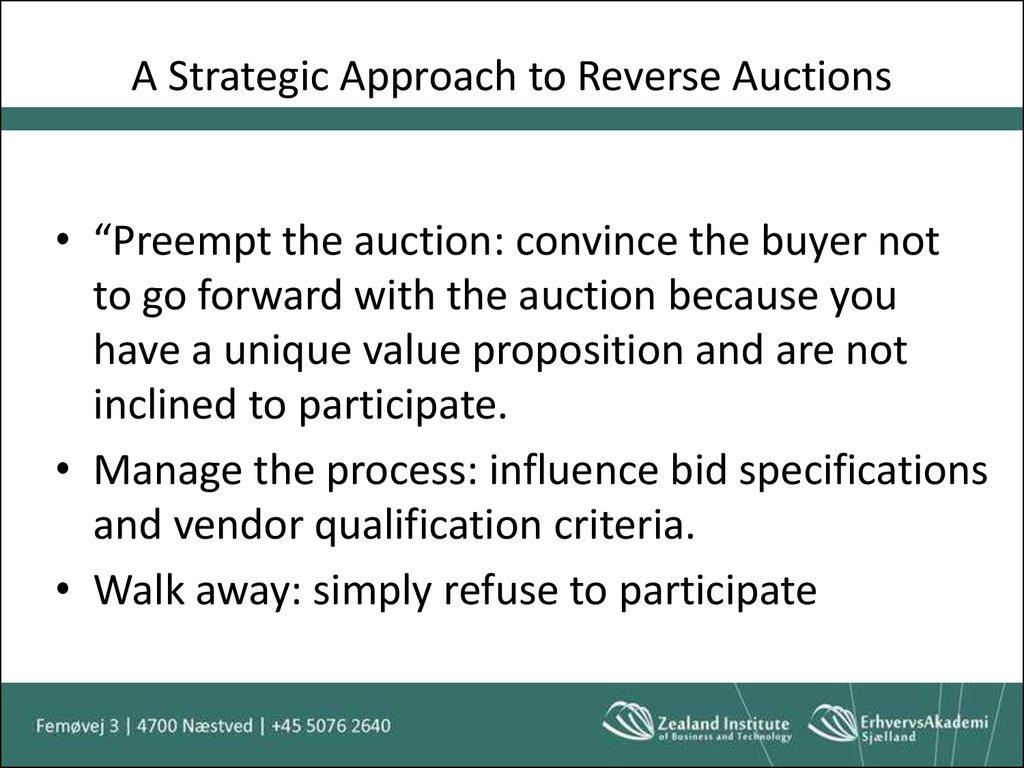 Organizatorial buying behavior - online presentation