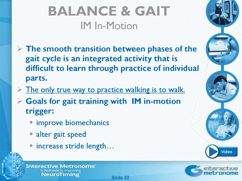 BALANCE & GAIT IM In-Motion