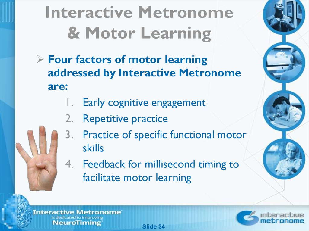 Interactive Metronome & Motor Learning