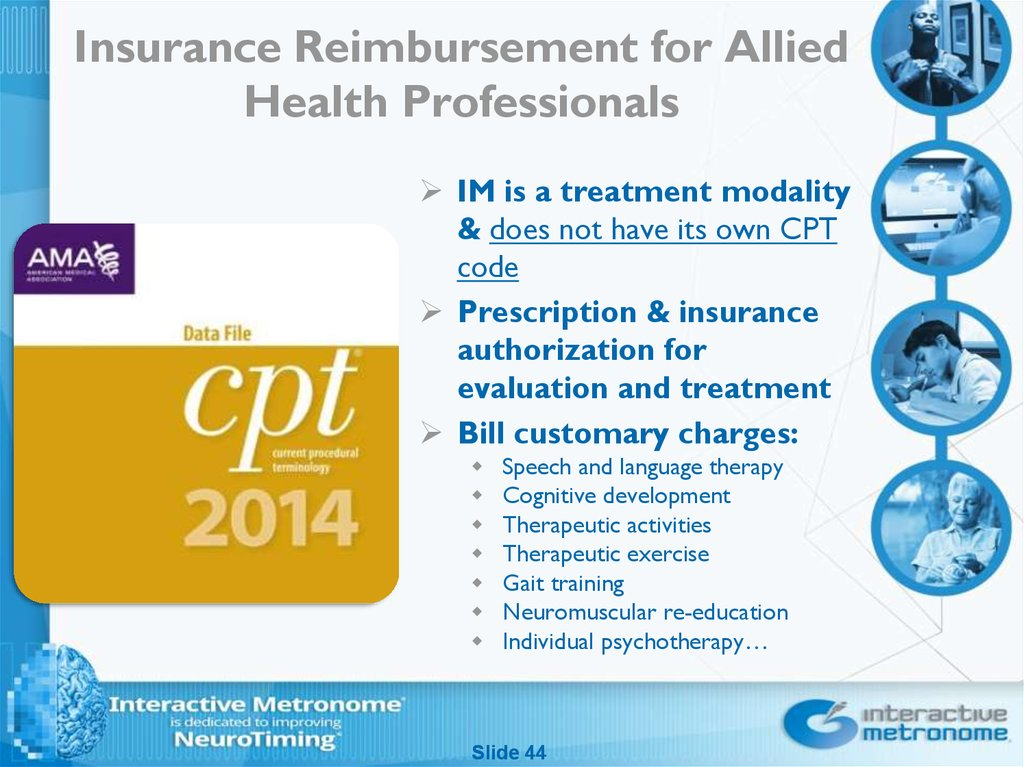 Insurance Reimbursement for Allied Health Professionals