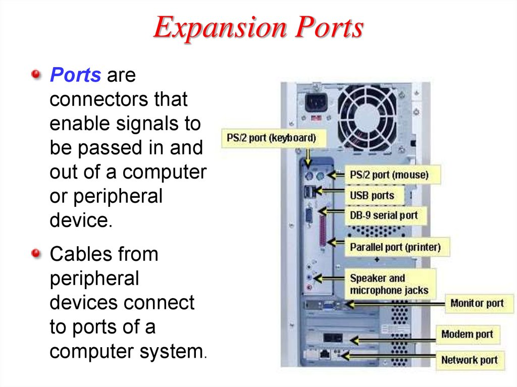 Expansion Ports