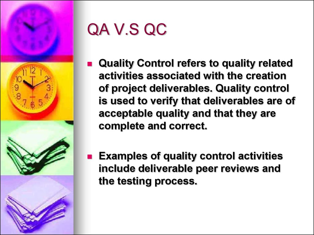 quality assurance vs testing vs quality