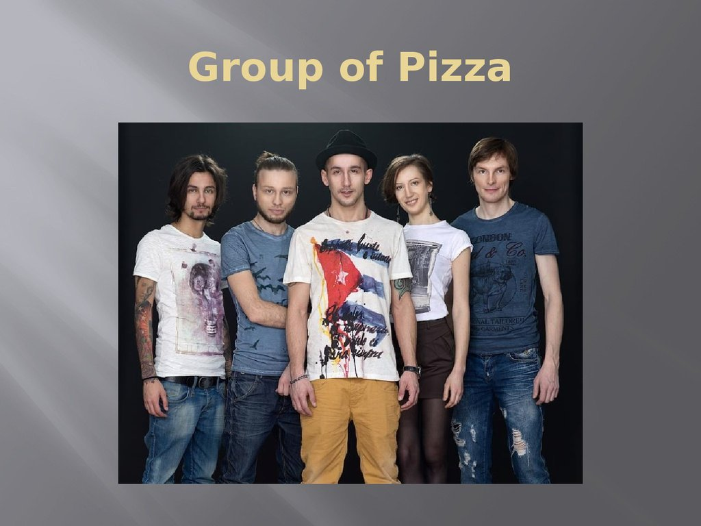 Group of Pizza