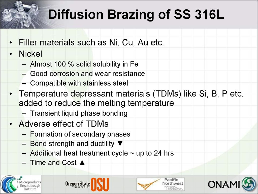 Application Of Nickel Nanoparticles In Diffusion Bonding Welding Diagram Brazing Ss 316l