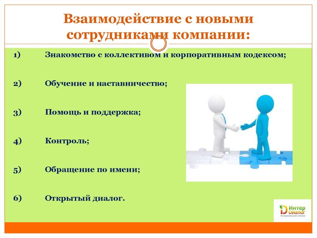 Знакомство презентация компании