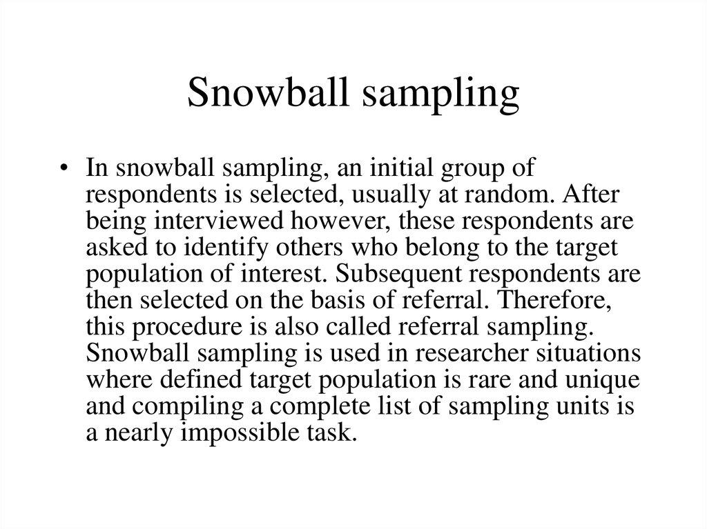 Sampling methods. Ppt video online download.