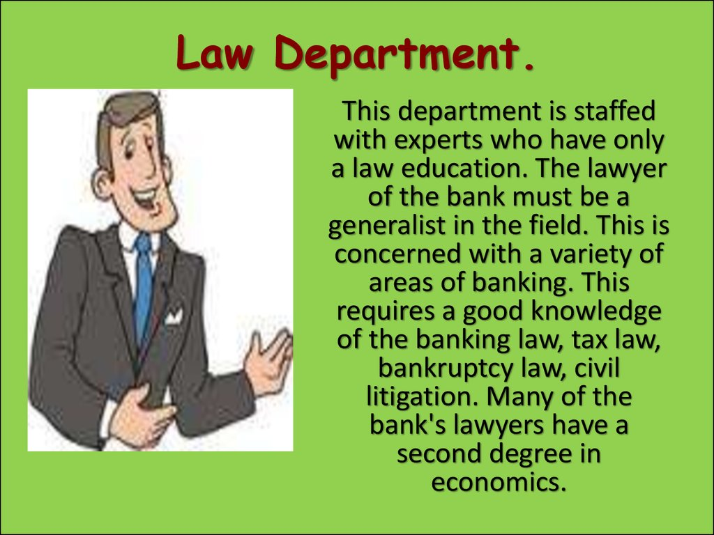 Law Department.
