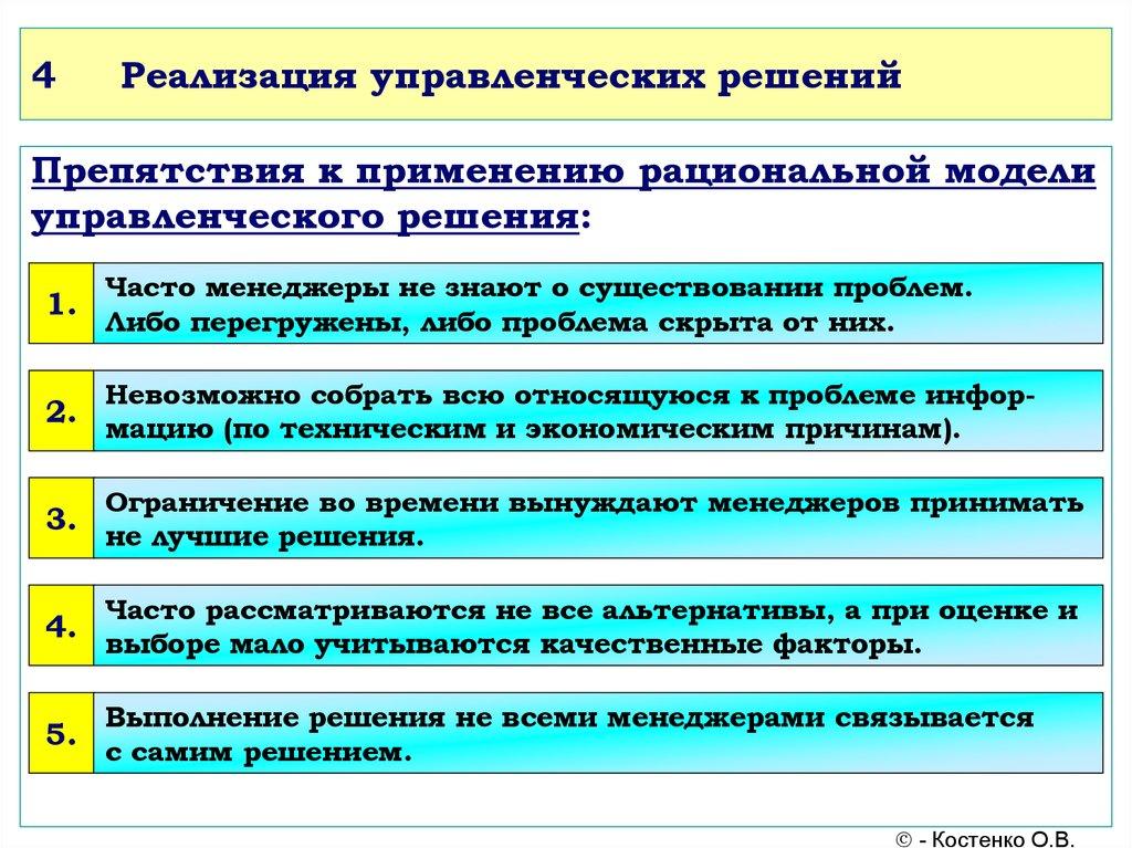 Шпаргалка. системный подход при подготовке и принятии управленческих решений