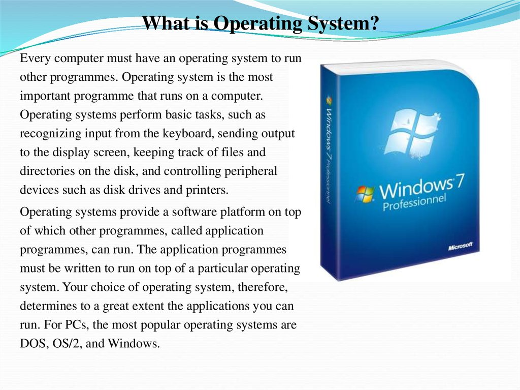 operating systems current development of windows and One netboot server can serve operating systems to several dozen client computers simultaneously, and to the user sitting in front of each client computer the experience is just like they are using their familiar desktop operating system like windows or mac os.