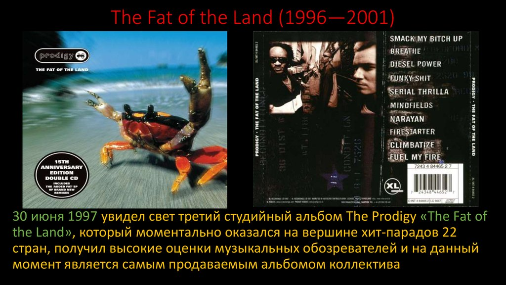 The Fat of the Land (1996—2001)