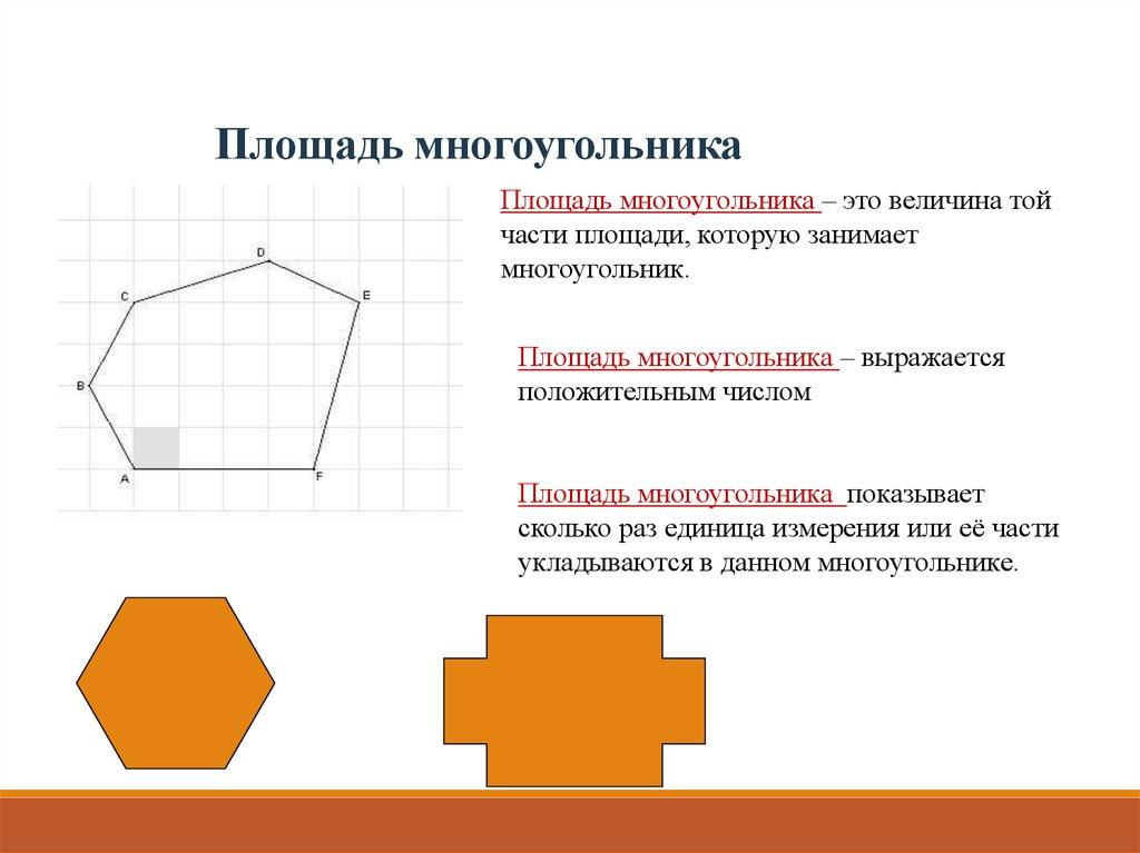 Вычислить площадь многоугольника онлайн изображение Хедрона