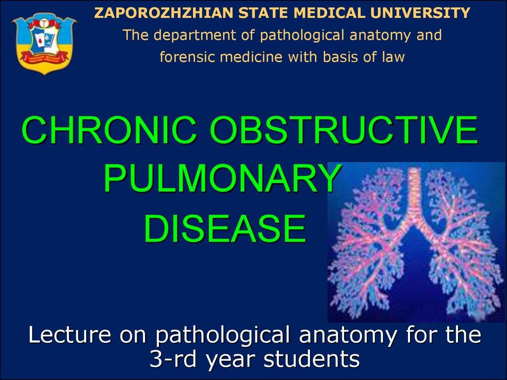 Chronic obstructive pulmonary disease - online presentation