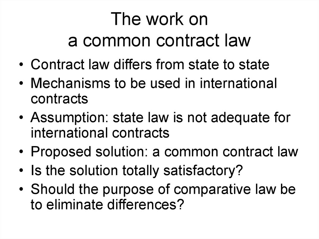 Comparative Private Law Definition Of Comparative Law Online
