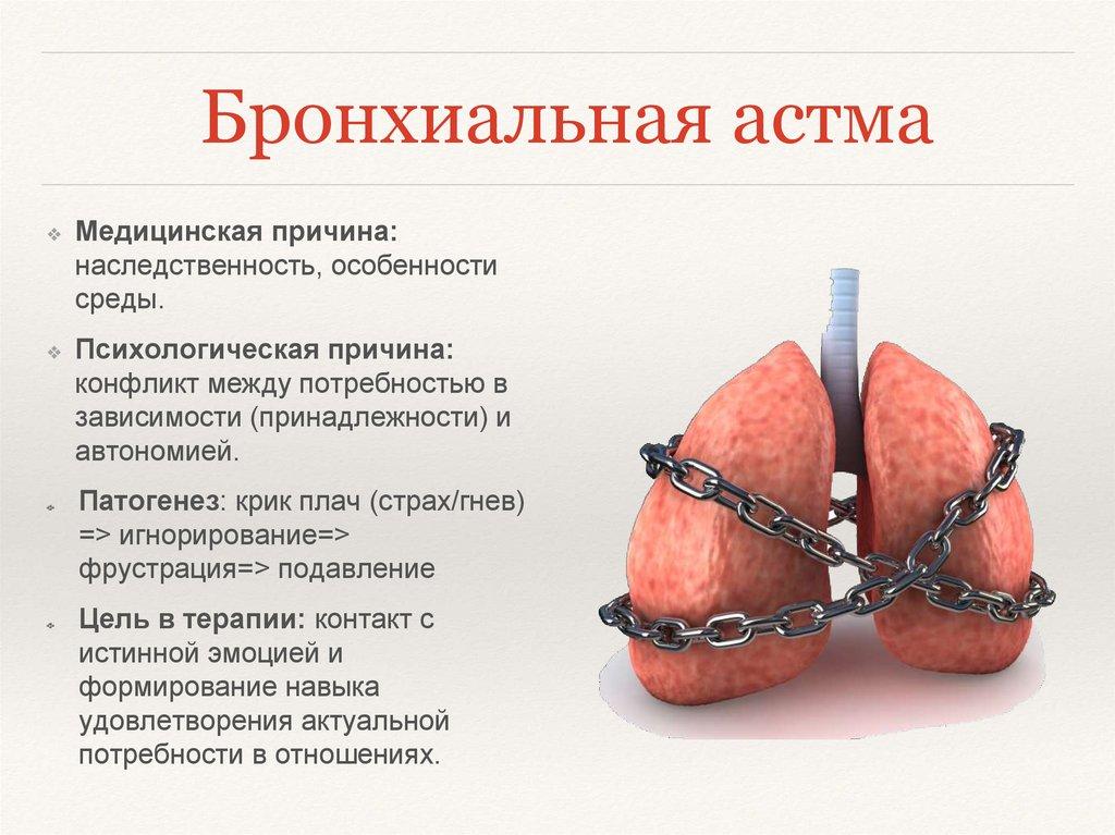 как раз бронхиальная астма психологические причины связано тем