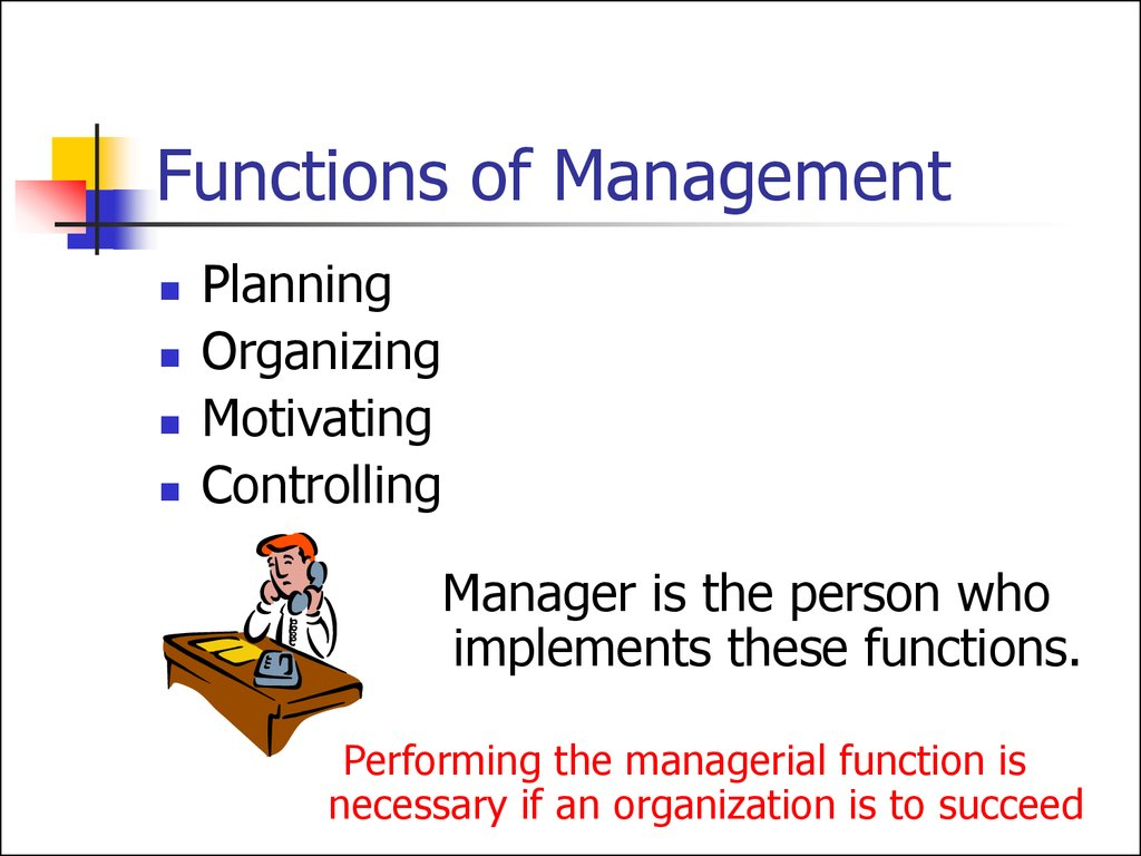 4 functions of management Introduction 2 11 definition of management 2 2) the functions of managemennt 3 3) planning 3 31 uses of business planning 4 the content of a bus.
