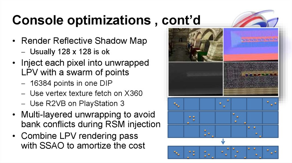 Console optimizations , cont'd