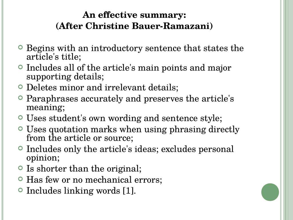 Editing an essay involves