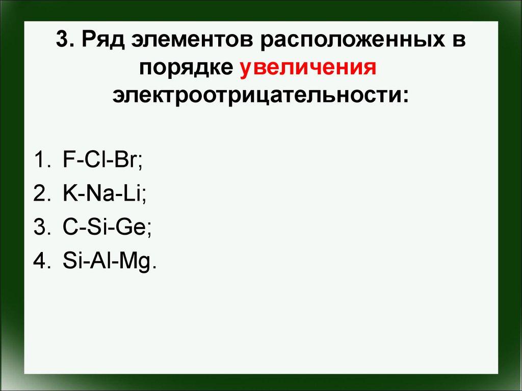 Схема распределения электронов по энергетическим