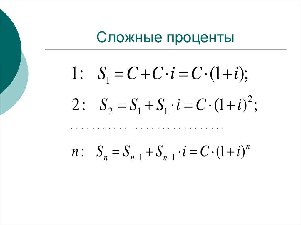 Проценты — основные понятия