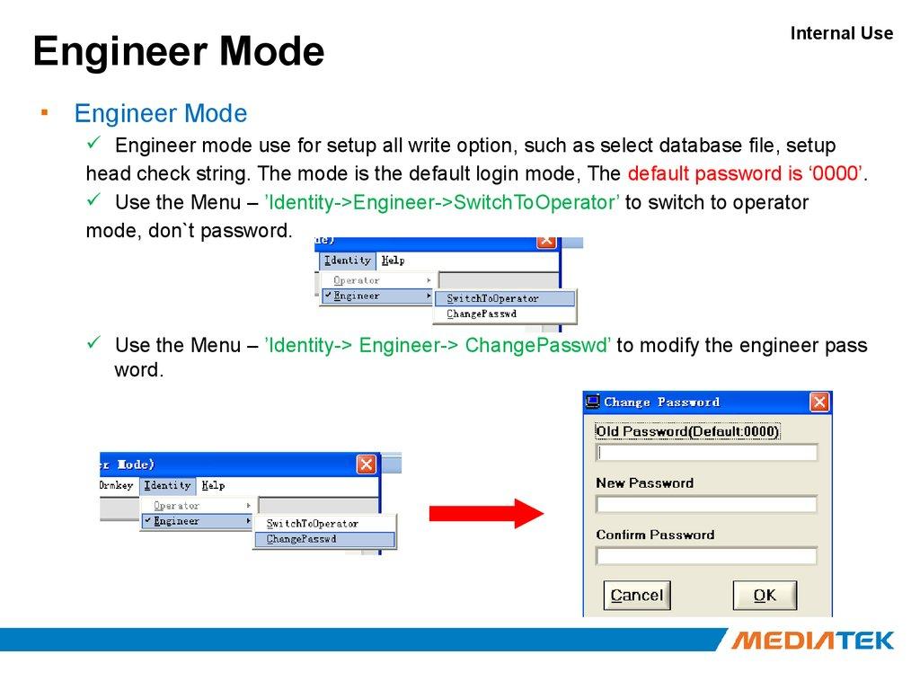MediaTek  SN tool introduce 2013/07/17 - online presentation