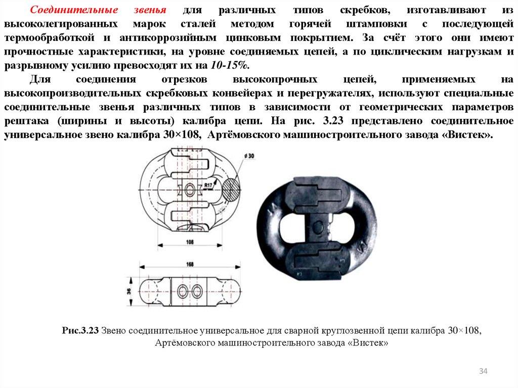 Звено цепи скребкового конвейера чертеж транспортера ленточного скачать