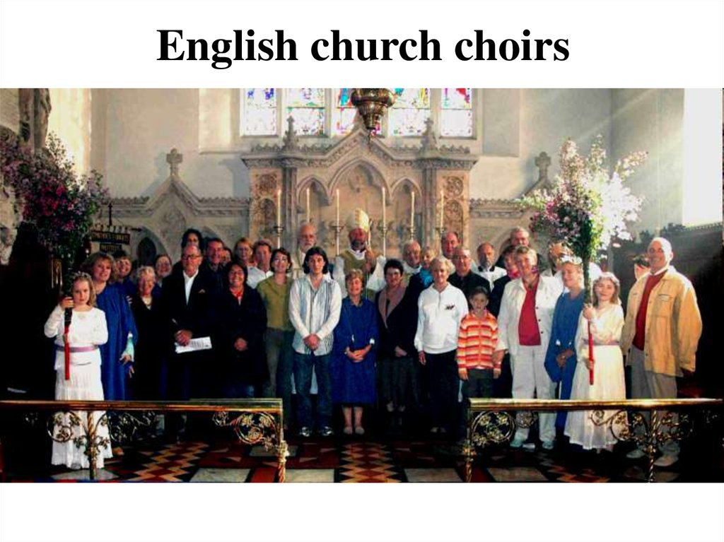 English church choirs