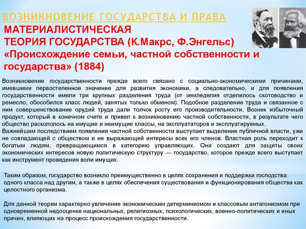 Доклад теологическая теория государства и права 6014